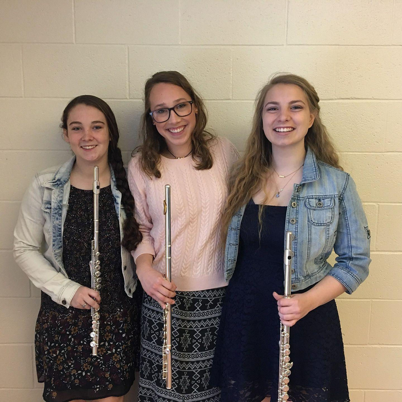 Madison Woods, Catherine Bradford-Royle, andKylie Luhring Dance of the Reed Flutes